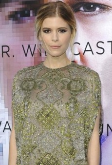 Kate Mara Sparkles in Valentino's Pre-Fall 2014 Embellished Dress
