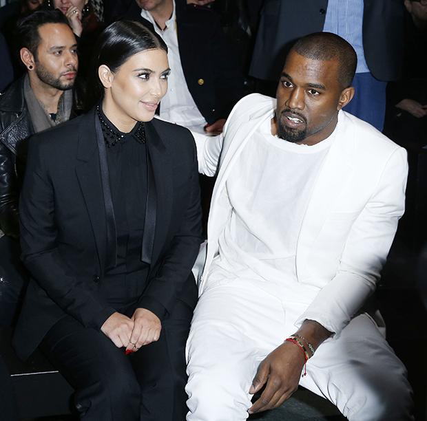 Kim-Kardashian-Kanye-West-Front-Row