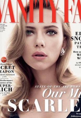 Vanity Fair May 2014 Scarlett Johansson