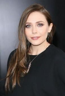 Dress Up with Elizabeth Olsen's Shimmery Makeup Look