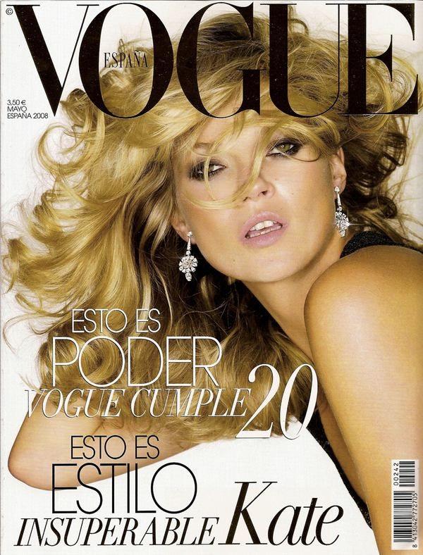 Kate Moss, Nick Knight, Vogue May 2008