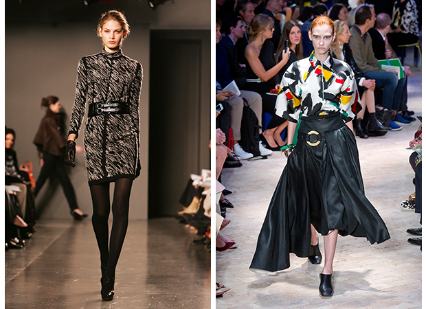 proenza schouler celine fashion runway art
