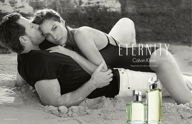 Calvin Klein Eternity Fragrance Christy & Ed