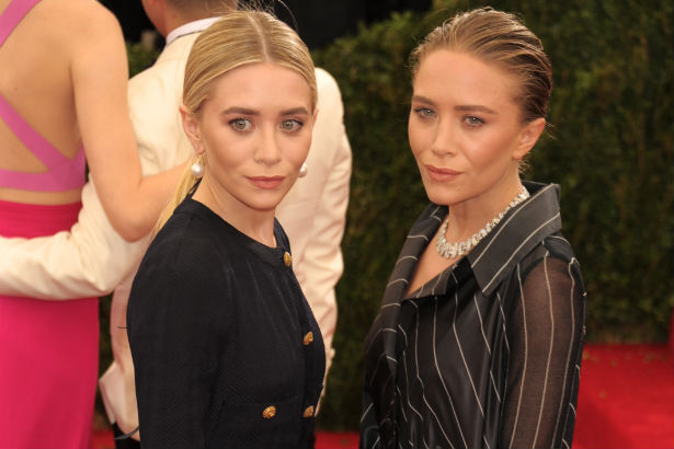 Mary-Kate and Ashley Olsen at the Met Ball