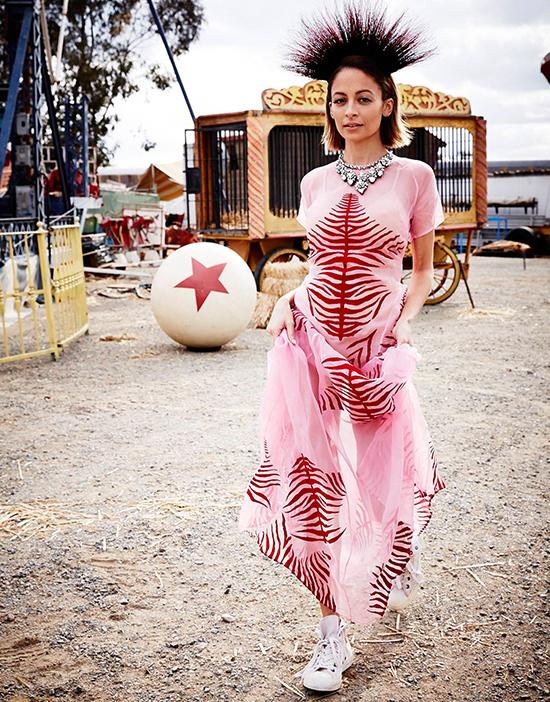 Elle Australia Nicole Richie 2014 July