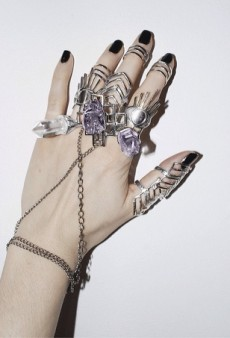 Australian Jewelry Designer Brooke Persich Brings Her Occult Aesthetic to NYC