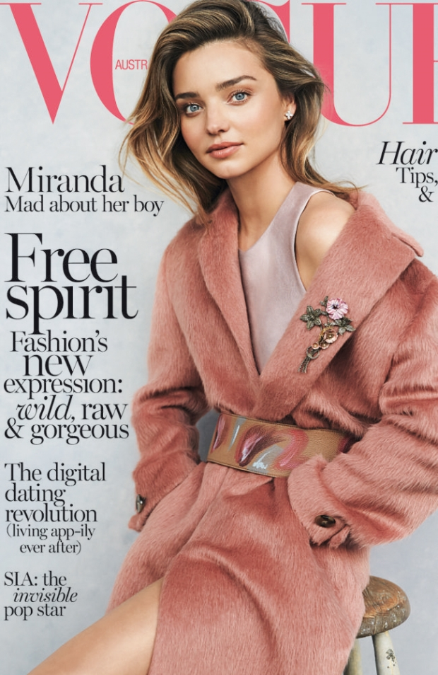 Vogue Australia July 2014 Miranda Kerr