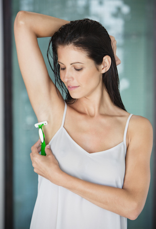 Shaving Armpits the facts