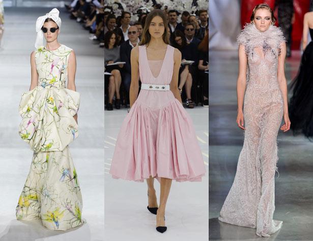 Haute Couture Fall 2014 Hits - Giambattista Valli, Christian Dior, Ulyana Sergeenko