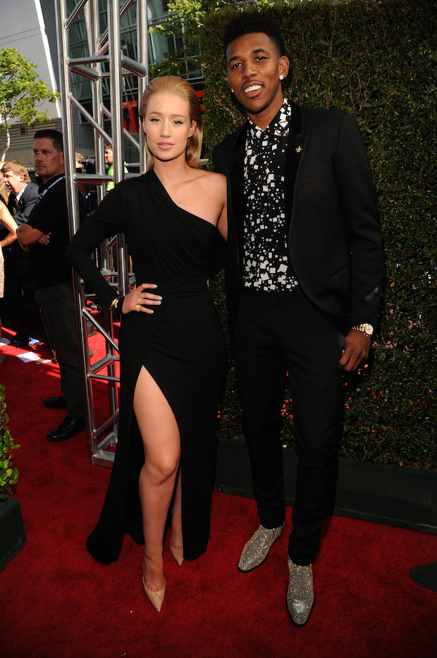 Iggy Azalea Nick Young Red Carpet