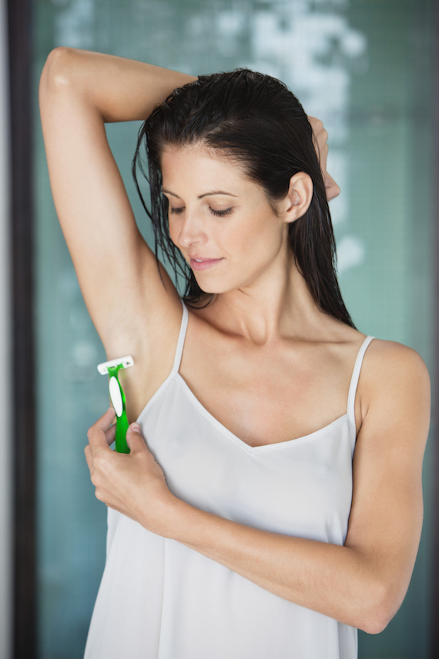 The Ugly Truth About Shaving Your Underarms Thefashionspot