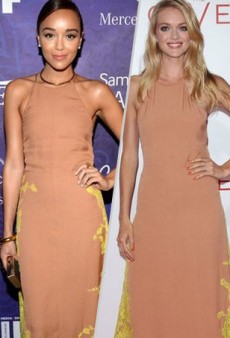 Style Showdown: Ashley Madekwe and Lindsay Ellingson Embrace Neon Highlights in Wes Gordon and More Matching Celebs
