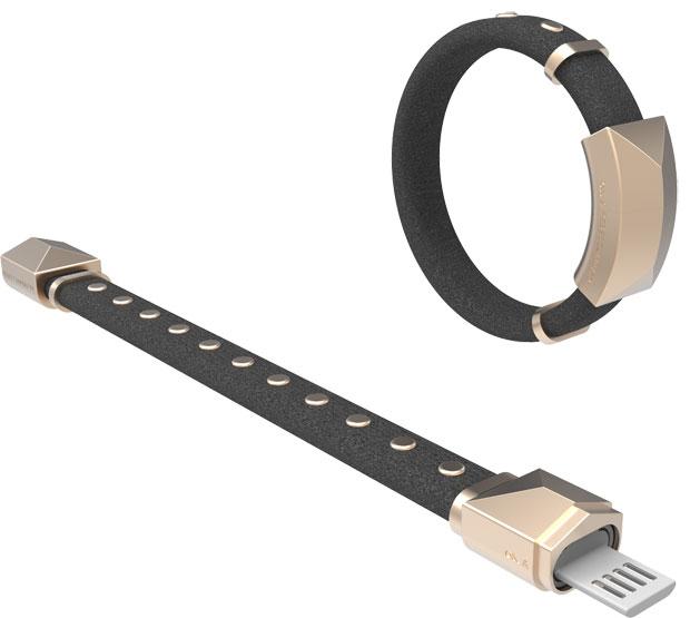 Rebecca Minkoff Lightning cable bracelet, $60