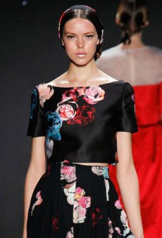 Winter Blooms: How to Wear Florals for Fall
