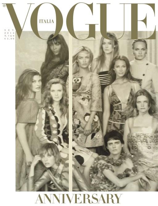 Vogue Italia September 2014 Steven Meisel