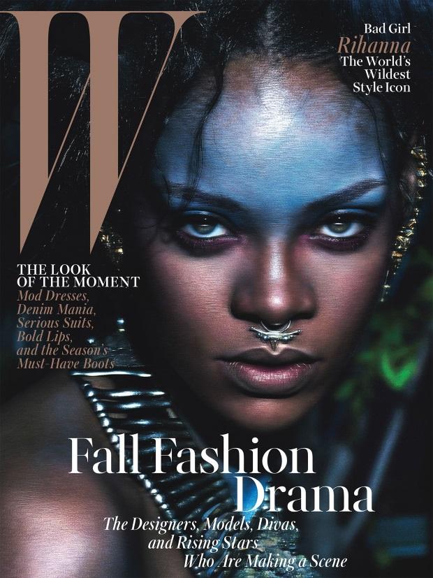 W Magazine September 2014 Rihanna Mert & Marcus