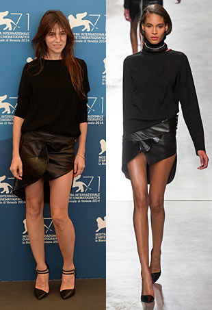 Charlotte Gainsbourg Venice Film Fest Anthony Vaccarello