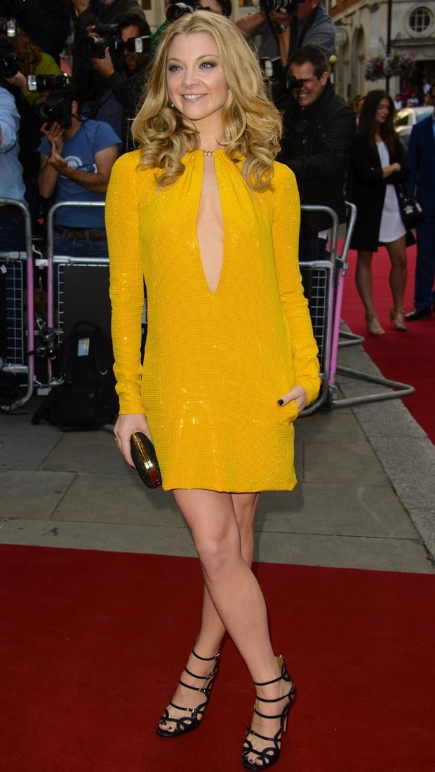 Natalie Dormer shines in Emilio Pucci at the GQ Awards