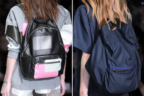 Backpacks at Christopher Raeburn Spring 2015