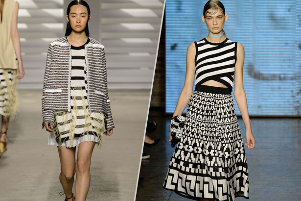 Thakoon and DKNY Spring 2015