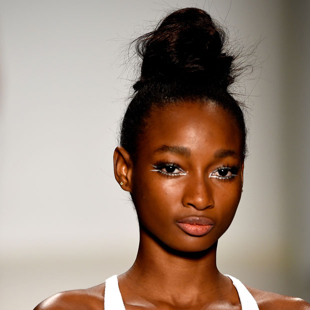 Nanette Lepore Spring 2015 beauty look