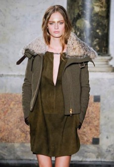 Fall in Line with the Season's Military Khaki Look