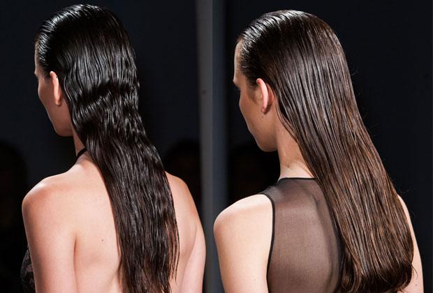 Sophie Theallet Spring 2015 hair look