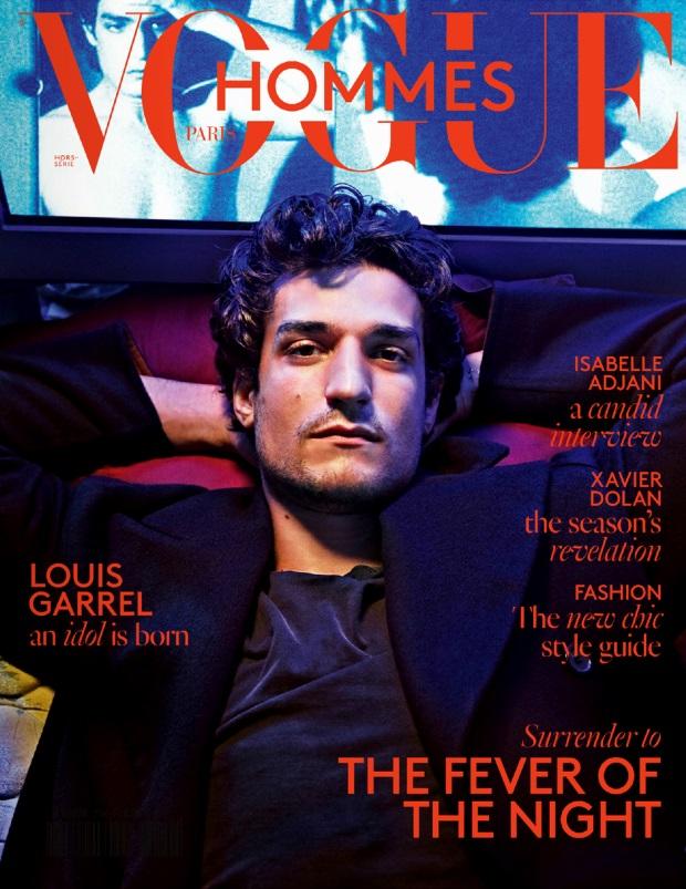 Vogue Hommes F/W 14.15 Louis Garrel