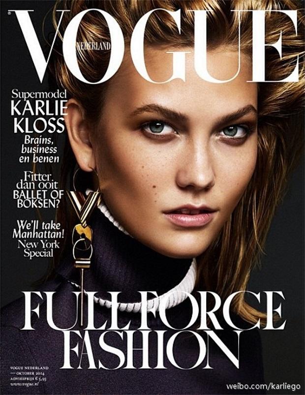 Vogue Netherlands Oct 14 Karlie Kloss