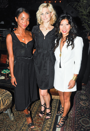 Genevieve Jones, Claire Bernard and Yuwei Lee