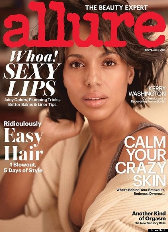 Allure November 2014 Kerry Washington