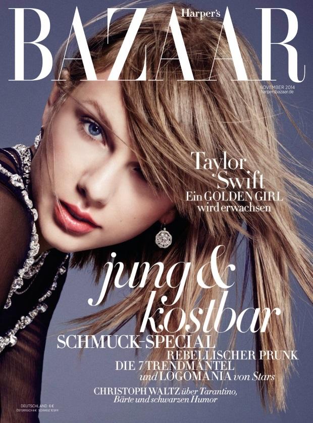 Harper's Bazaar Germany November 2014 Taylor Swift