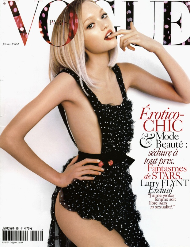 Flashback Vogue Paris Feb 2005 Gemma Ward