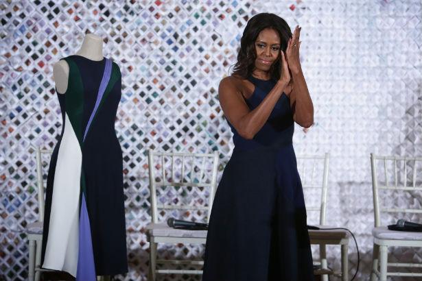 Michelle Obama Holds Fashion Education Workshop Panel Thefashionspot