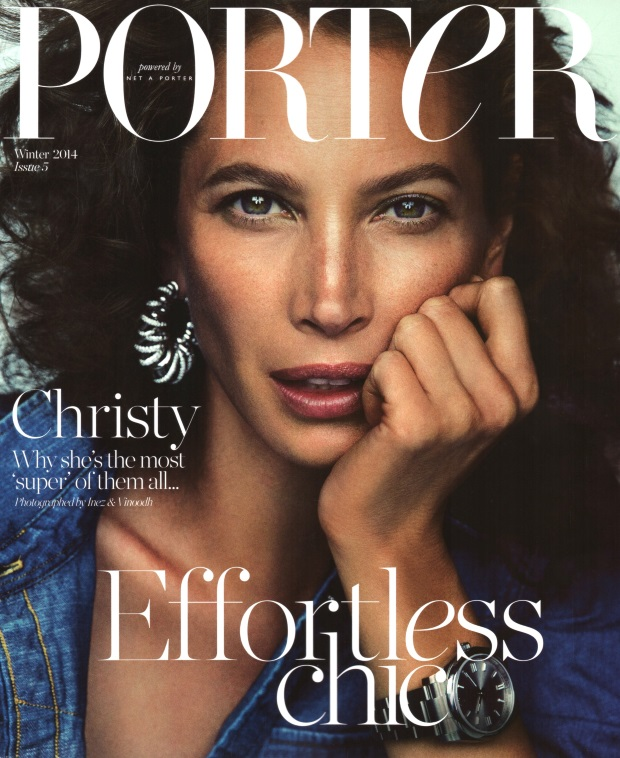 Porter Winter 2014 Christy Turlington by Inez & Vinoodh