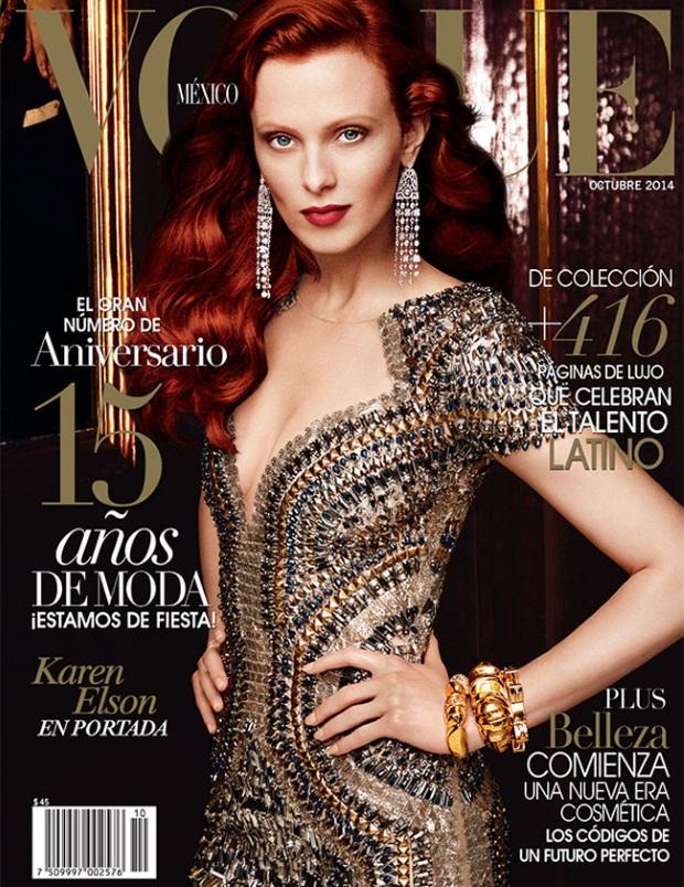 Vogue Mexico Oct 14 Alexi Lubomirski
