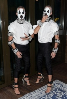 DSquared2 Design Duo Dazzle at Matthew Morrison's Costume Party