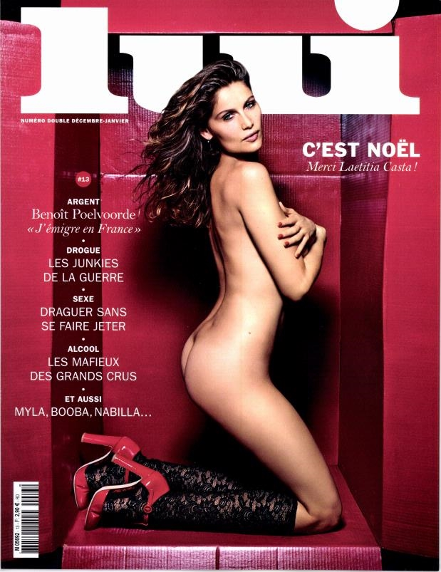 Lui Magazine December 2014 January 2015 Laetitia Casta