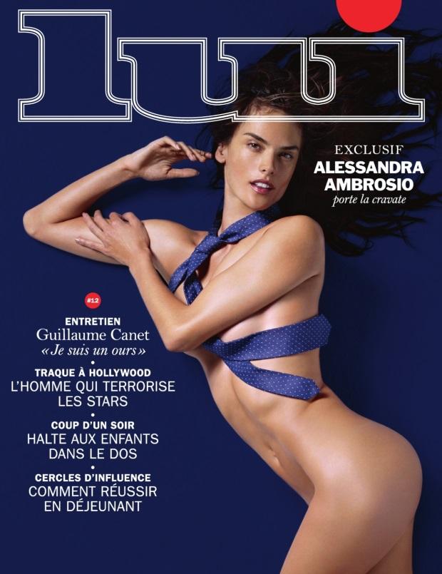 Lui Magazine November 2014 Alessandra Ambrosio