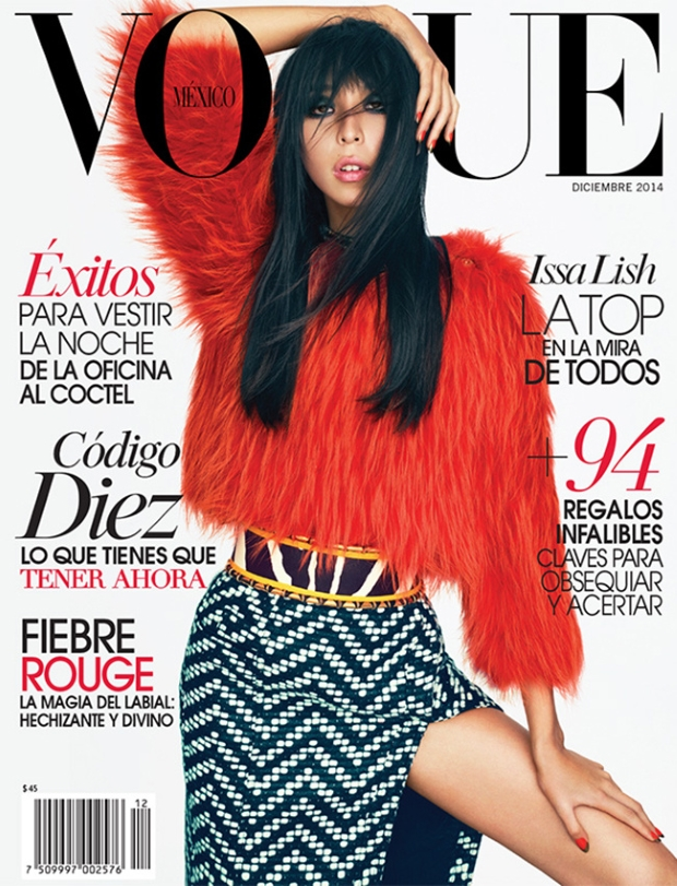 Vogue Mexico December 2014 Issa Lish