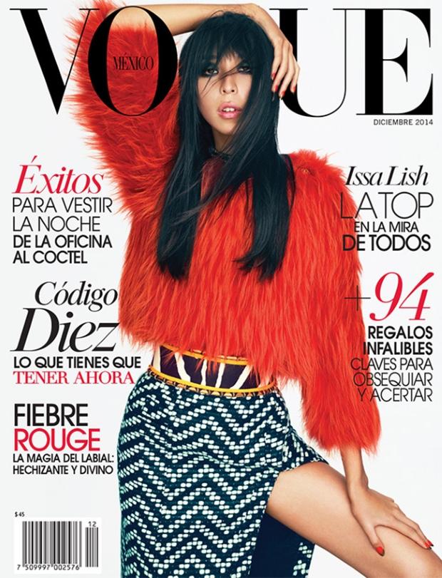 Vogue Mexico December 2014 Issa Lish