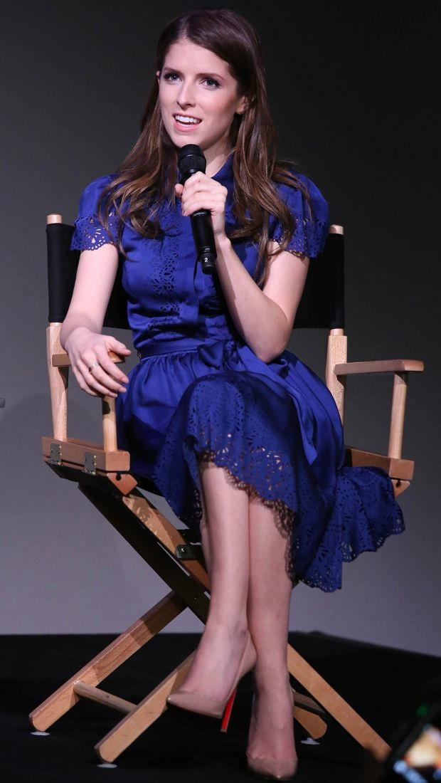 Anna Kendrick in Temperley London at Apple