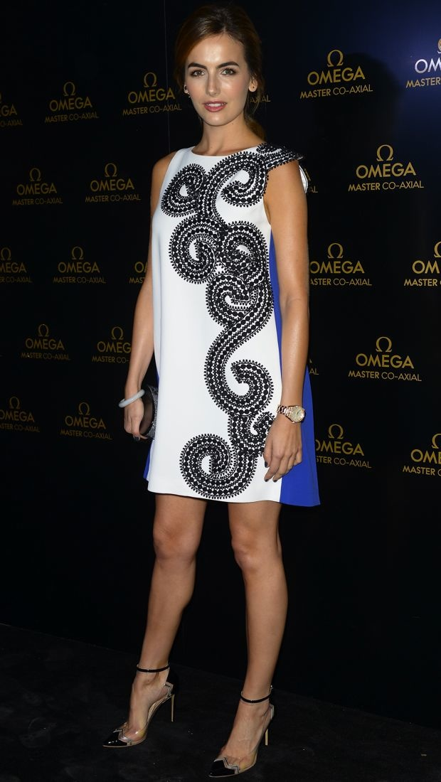 Camilla Belle Sports A Graphic Andrew Gn Dress