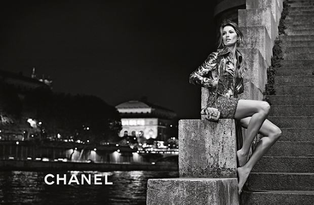 Ad Campaign Chanel Spring 2015 Gisele Bundchen