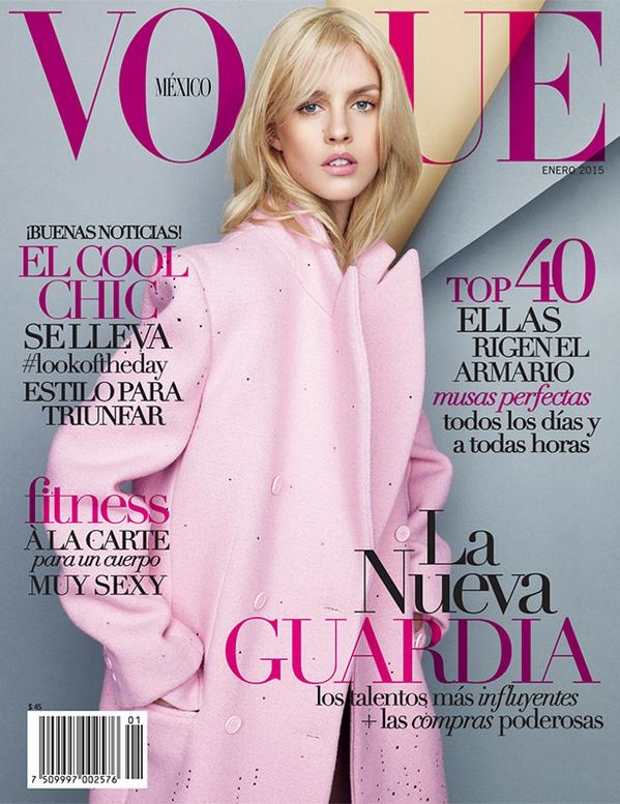 Vogue Mexico January 2015 Julia Frauche