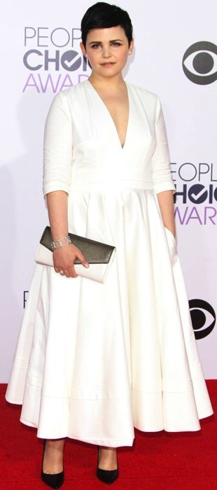 Ginnifer Goodwin in Delphine Manivet at the People's Choice Awards