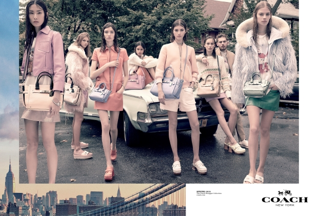 Ad Campaign Coach Spring 2015 Steven Meisel