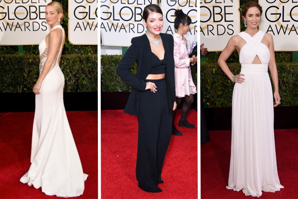 Kate Hudson, Lordes, Emily Blunt; Image: Getty