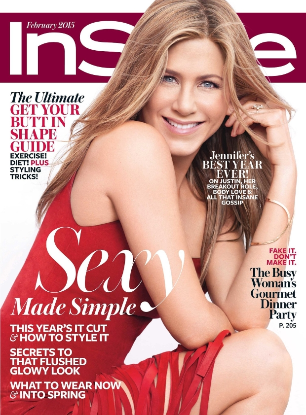 US InStyle February 2015 Jennifer Aniston