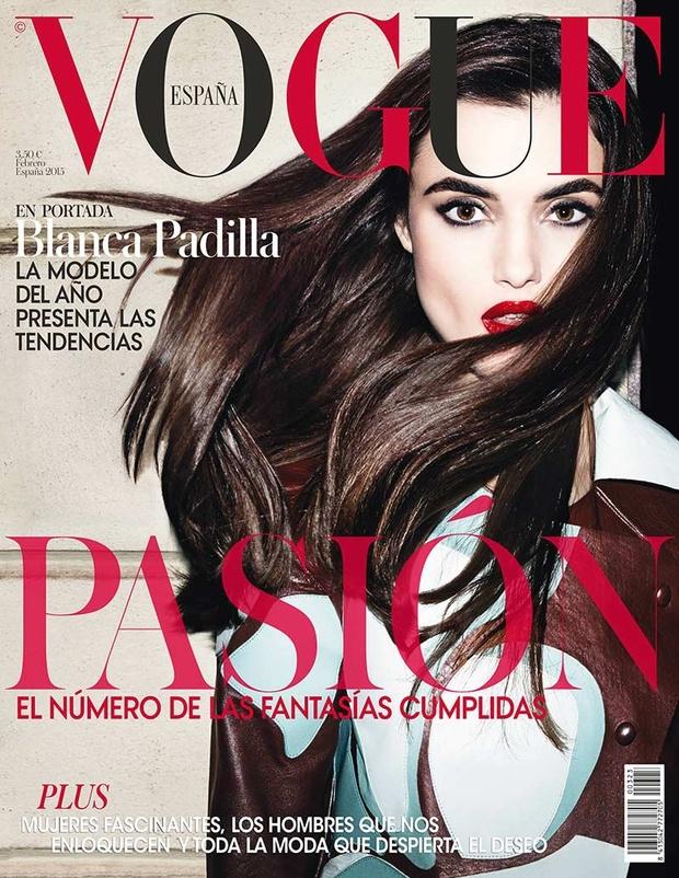Vogue Spain February 2015 Blanca Padilla